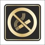 Таблички, наклейки, курение запрещено, не курить