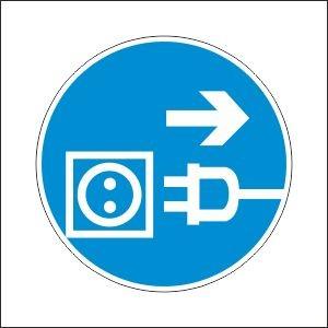 Табличка, наклейка, предписывающий, безопасности